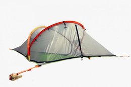 Wholesale 2016 hot Tentsile Tree Tent Outdoor Camping Tents person Hanging Hammock D Oxford cloth PU painted FREE FEDEX