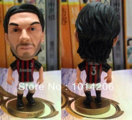 Wholesale Paolo Maldini Figure AC Milan Classic Limited Edition Football Star Toy Mixed Order Allowed Soccer Fans Souvenir
