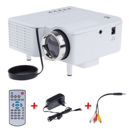 Wholesale UC28 Mini LED Digital Video Game Projectors Multimedia player Inputs AV VGA USB SD HDMI proyector