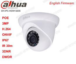 Dahua IPC-HDW1320S 3MP HD POE IR Small Eyeball Dome Camera Replace IPC-HDW4300S