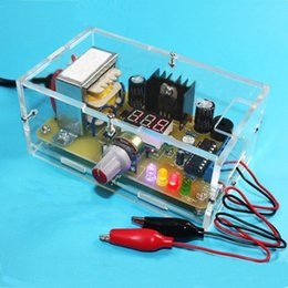 Wholesale diy kit LM317 suite Cheapest Learning DIY LM317 Kit car Adjustable Voltage Power Supply LM317 diy Kit Integrated Circuits diy amplifier kits