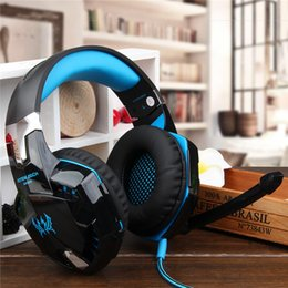 Wholesale Zhuo KOTION EACH G2000 because of anti noise headset adjustable lamp hyun stereo HIFI Computer Gaming Headset