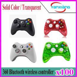 100pcs Xbox 360 sans fil 2,4 GHz jeu sans fil Télécommande Gamepad Joystick pour Xbox360 Controller YX-360-01 à partir de joystick xbox fabricateur
