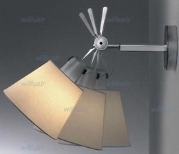fabric shade wall lamp metal frame wall sconce wall light modern simple wall light American style wall sconce living room sitting room
