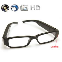 Sécurité facile à vendre-Portable caméra de sécurité cachée HD 720P connexion Lunettes de soutien Max 32GB TF carte facile avec PC / ordinateurs portables