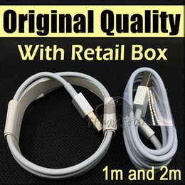 Wholesale Original Quality M Ft M FT Micro USB Cable Sync Data Cable Charging Cords With Retail Box For Phone Samsung Galaxy S6 S7
