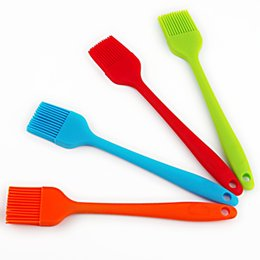 Wholesale Silicone Basting Pastry Bbq Brushes Set of Colorful Flexible Essential Cooking Gadget Bakeware Tool and Culinary Equipment