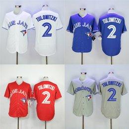Wholesale Cheap New Toronto Blue Jays Majestic Troy Tulowitzki Alternate Royal Base Authentic Collection Men s Baseball Jersey