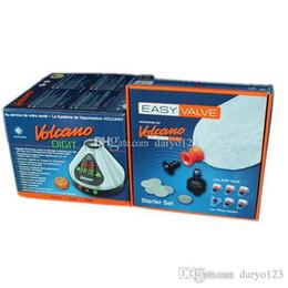 Wholesale 2016 Clone Volcano Digital Vaporizer Storz Bickel w Easy Valve FREE Santa Cruz Grinder Volcano Vaporizer w Easy Valve Starter