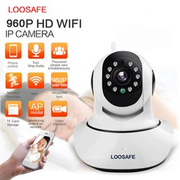 Wholesale LOOSAFE HD P Wireless Wifi Security Surveillance CCTV IP Camera Network P2P Pan Tilt Home Baby Monitor