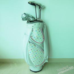 Wholesale New womens Golf clubs man FL Complete Clubs set Golf driver fairways wood Golf irons putter Golf Bag Graphite golf shaft