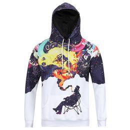 Wholesale New Winter Autumn Hooded Jacket Space Jaz hoodies Printed D Men Hoodies Long Sleeve Sweaters Pullovers T Shirt M XXXL