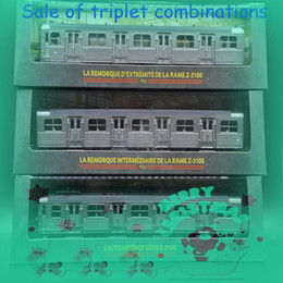 Wholesale THE TOYS ATLAS Z Three suits The train model