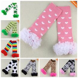 baby girls animal leg warmers baby ruffle lace sock kid cotton knee high socks children dot christmas tight legging football socks wholesale