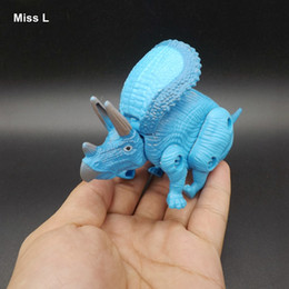 Triceratops Egg Dinosaur Plastic Toys Model Action Figures Boys Gift Mind Game Brain Teaser IQ Game Toy