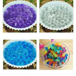Wholesale New bag Orbeez Water gun bullet Water Beads Bio Gel Ball Crystal soil Creative bibulous Free Shiping