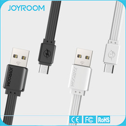 Wholesale Joyroom Micro USB Cable Data Snyc Charger Cable Flat Line Cable for Android Phone Power line cm