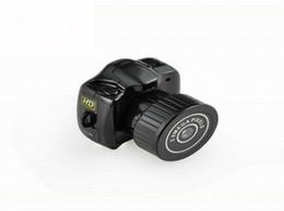 Caméscopes mini- en Ligne-Le monde la plus petite caméra Mini HD Y2000 Caméscope Petit Mini Pocket DV DVR Camcorder Recorder Spy Invisible Web Cam