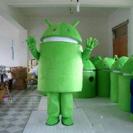 Wholesale Hot Sale Android Robot Mascot Costume Fancy Dress Cartoon Clothing Adult Size