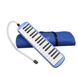 Wholesale 32 Piano Keys Melodica Musical Instrument for Music Lovers Beginners Gift with Carrying Bag MIA_668