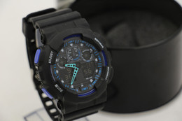 Wholesale Newest Men GA100 Sports Watches Waterproof wristwatches Luxury Digital Watch color