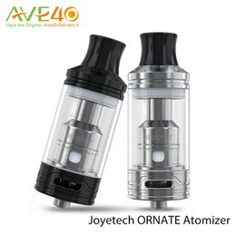 Wholesale Original Joyetech Ornate Atomizer ml mm Diameter Designed for Cloud Chasing with MGS Series Heads Top Filling Bottom Airflow System