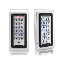 Wholesale IP68 Waterproof Outdoor LED Keypad Metal Standalone Access Control Wiegand Fast Operating Speed RF Door Access V and V Door Access