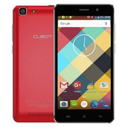 Wholesale CUBOT RAINBOW G WCDMA Smartphone HD IPS Capacitive Screen inch Android OS Quad Core MT6580 GB GB WiFi MP Camera New