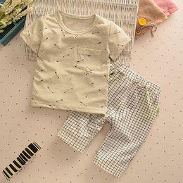 Wholesale Crochet Baby Blouse - Baby boy summer thanks 2016 summer new boy shirts designs popular children suit blouses crochet long