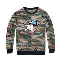 2018 new arrival hiphop men long sleeve tshirt men love trukfit fashion men t shirt plus size O-neck regular sleeve