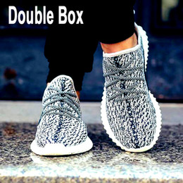 Wholesale Send Double Box Boost Shoes footwear Top Quality new arrival top Kanye West Shoes for mens womens more Boost for Sports Outdoor