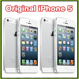 Wholesale Original Unlocked Refurbished Apple iPhone iPhone5 Smart phone IOS GB WIFI G GPS Also have iPhone S Plus Samsung S6