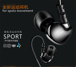 It is selling like crazy Universal In ear hook headphones Running sports headset waterproof earphone HIFI heavy bass stereo Music headphone