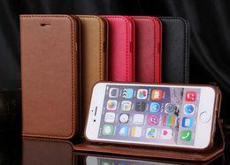 Reminiscent Magnet For iphone 6 Plus 6S Plus Case Flip Wallet TPU Cover Leather Case for Apple Iphone 6 Plus 6S Plus