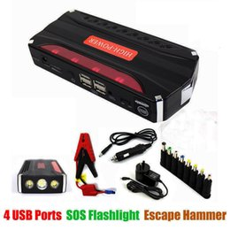 Wholesale LUNDA A Peak Portable Car Jump Starter Booster USB Battery Power Bank Charger V EPS Emergency Start Battery Source