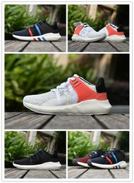 Wholesale 2016 Three stripes White Mens running support EQT IIII EQUIPMENT orange Sneaker Brand Shoes High quality shoes size eur