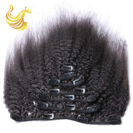 Popular Clip In Hair Extensions Piece Brazilian Malaysian Indian Unprocessed Virgin Yaki Straight Human Hair Wigs