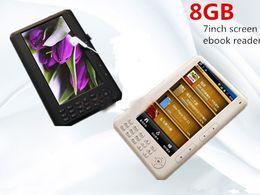 Wholesale Qinkar inch screen ebook reader GB PDF e book mp5 video Recording TF Card slot Calendar Multi Language ereader