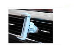2016 vent mount gps 50pcs / lot Holder Luxury Car Phone Air Vent Mount Support GPS Support 360 support réglable Rotation pour iPhone 5 6 plus de moins de 6 '' téléphone vent mount gps sortie