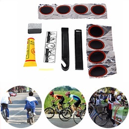 Wholesale Bicycle Tire Repair Tools Kits Cycling Tyre Puncture Repair Tire Flat Set Patch Rubber Portable Fetal Best Quality Easy To Carry