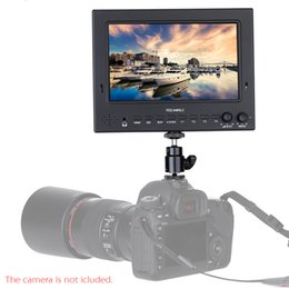Wholesale Feelworld Professional ST702 HSD quot Broadcast LCD HD On camera Monitor for DSLR Camera Camcorder Film and TV Field Shooting