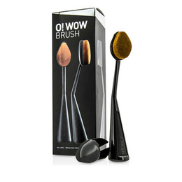 Wholesale CAILYN pc Oval Makeup Brush o wow brush Beauty Cream Puff Cosmetic Toothbrush shaped foundation contour brush Blending Tools with box