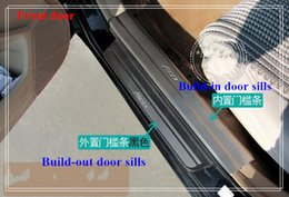 Wholesale High quality build in build out door sills scuff footplate protection bar with logo for Honda Accord