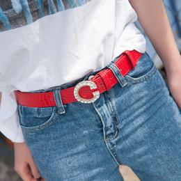 2.8 * 110cm ceinture de diamant classique de 2016 New Fashion Femmes ceintures boucle accessoires ceinture de gros des femmes à partir de femmes boucles de ceinture gros fournisseurs