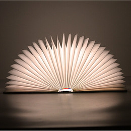 Lumio Book Lamp folding Book light led light portable lights glowing creative modelling books