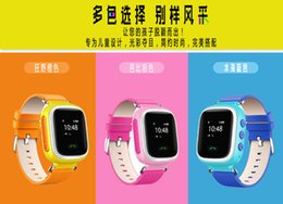 Wholesale Children s smart positioning watches can make a phone call to insert cartoon words waterproof GPS boys and girls anti drop device student mo