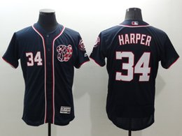 Promotion gros national 2016 Wholesale Washington Nationals 34 Brandon Harper Jerseys, Baseball FLEXBASE chandails, 100% Logos Stitched cool base Gris Jersey