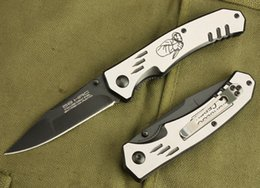 Wholesale Top quality style OEM EXTREMA RATIO F37 Tactical folding knife EDC pocket knives Black oxide finish blade Steel handle knives