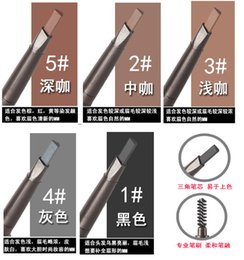Wholesale Manufacturer of quality assurance South Korea s popularity authentic eyebrow pencil Double rotate automatically eyebrow pencil