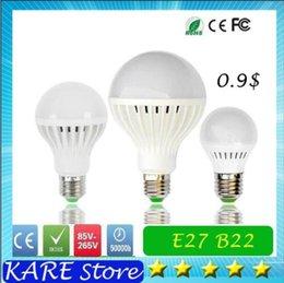 Wholesale HI cost effective Ultra Bright LED Light AC V V W W W W W Bulb E27 B22 LED BALL BuLBS Light Globe Lamp Energy Saving Lighs